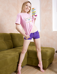 A glamorous teen like her is just irresistible when she smiles so brightly and strips so many clothes.