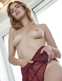 Nastia is a very common Eastern European name but when we hear it in USA we think of a nasty girl. Nastia is not nasty, just extremely gorgeous and sexy and she knows it. This morning she was making breakfast, caught a glance of herself in the fridge and got so turned on that she came like crazy all over the counter. The whole time she was imagining what she would do if YOU were in the kitchen with her. Naughty little minx that Nastia! xxoo Colette