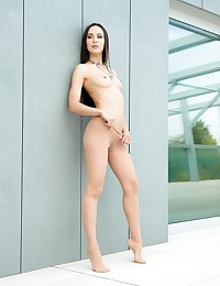 The gorgeous babe, Lilu Moon, is craving for some big and thick black cock, so she goes ahead and strips down for Joss Lescaf. The young hottie teases and plays with her beautiful and cute feet! Then she takes that big cock deep her tight little and dripping wet pussy until the babe makes it cum all over her feet! Lilu Moon is surely every man's desire!