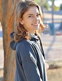 Kristen Young Teen Look